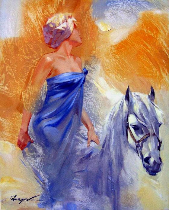 Художник Владислав Гурьев. Есть женщины – кони чистейшей породы