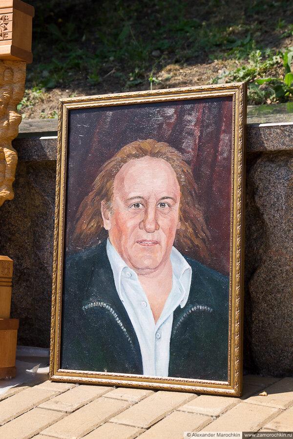 Портрет Жерара Депардьё