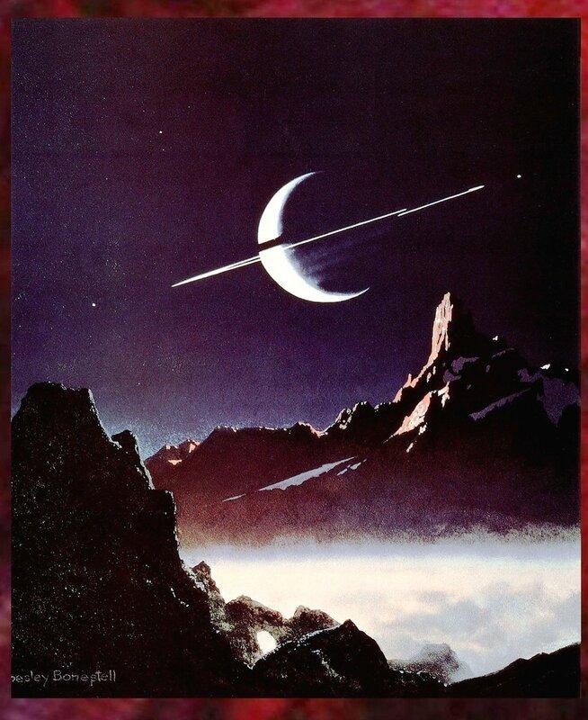 Чесли Боунстелл. Американский художник. QMan_CB_TAOCB_2135_Saturn_as_Seen_from_Titan.jpg