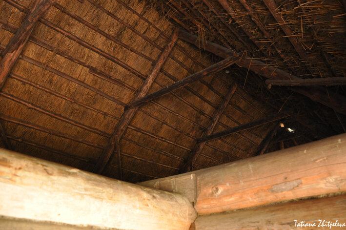 строение крыши амбара