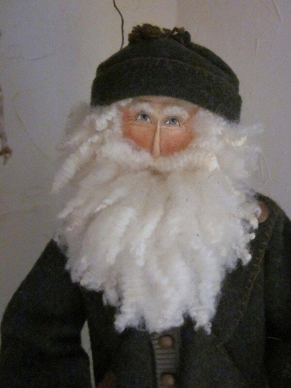 кукла Санта