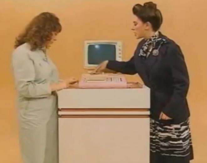 Компьютер для женщин образца 1980-го года