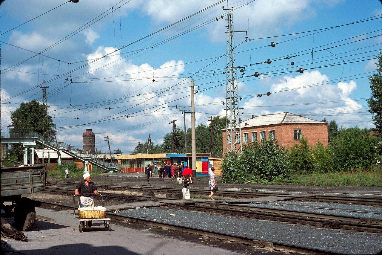 Станция Тайга.