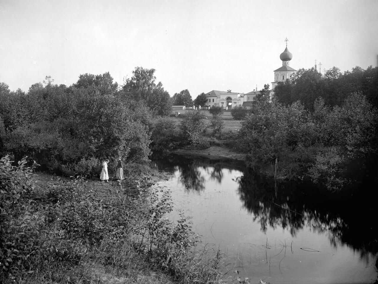Общий вид Жёлтикова мужского монастыря близ города Тверь. 1903 г.