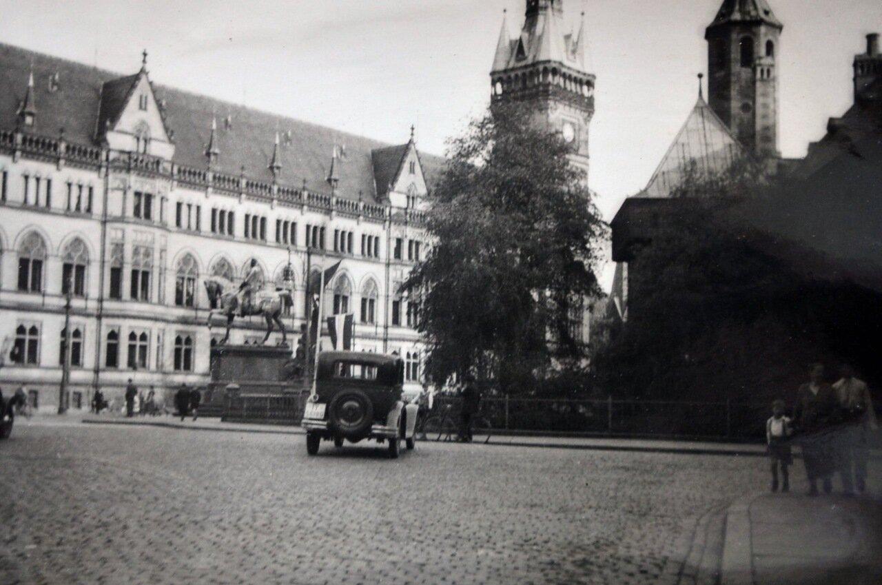 Брауншвейг, Новая Ратуша. Май 1933