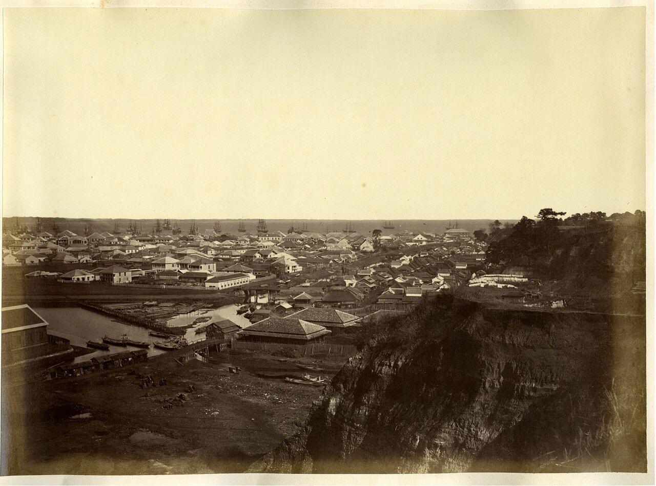 Иокогама. Панорама города