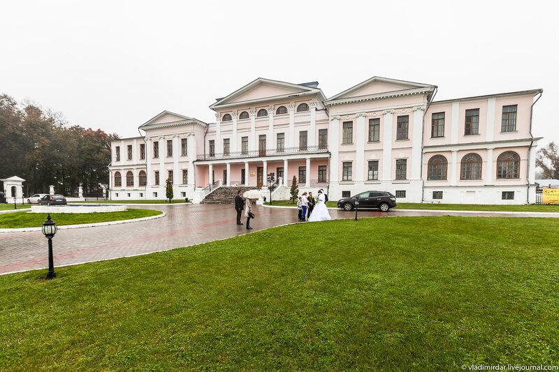 Дворец в усадьбе Дубровицы