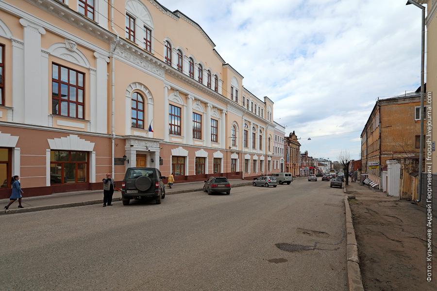 Спасская улица Кирова (бывшая улица Дрелевского)