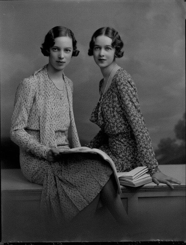 Gwen Le Bas; Molly Le Bas by Lafayette , 30 April 1930