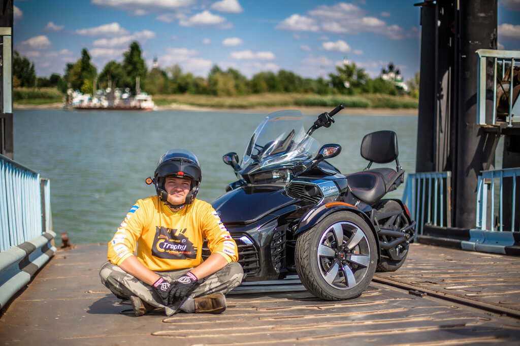 Can-Am Spyder F3 with Mike Ryabinin