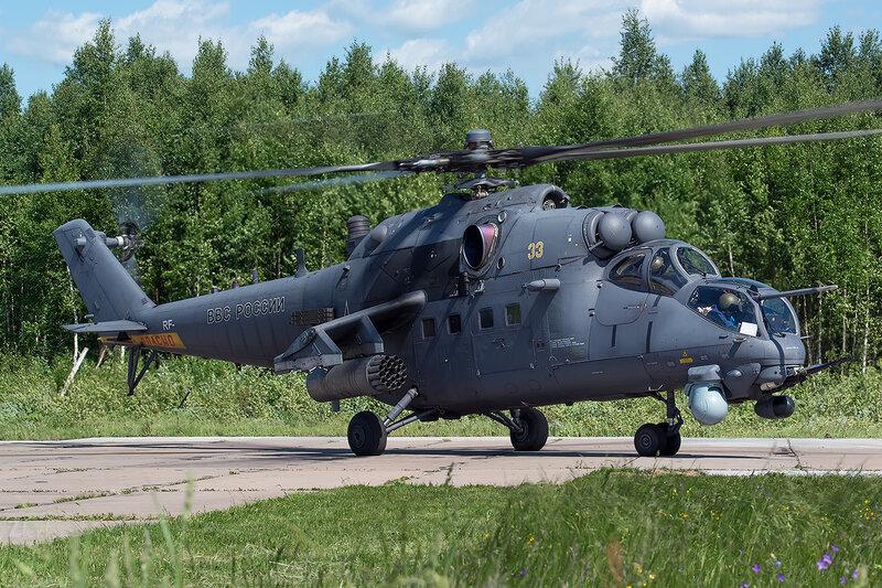 Миль Ми-35ПМ (33 жёлтый) D800958