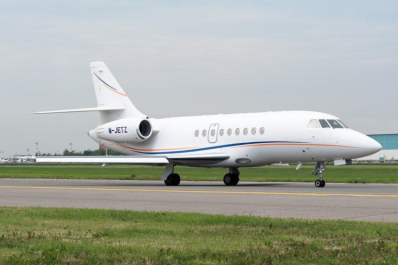 Dassault Falcon 2000EX (M-JETS) DSC_1651