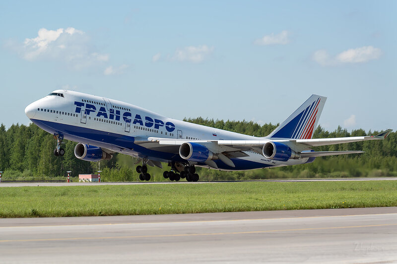 Boeing 747-446 (EI-XLD) Трансаэро D800852