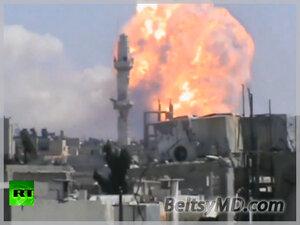 Взрыв в Сирии — погибли 40 человек, ранено — 120