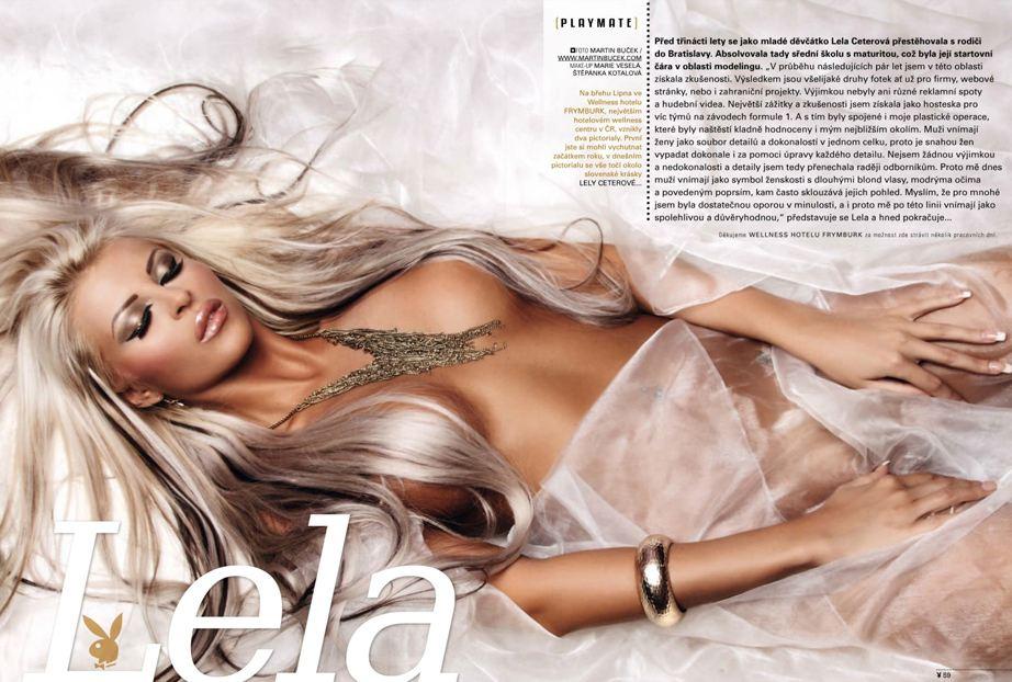 Девушка месяца Лела Цетерова / Lela Ceterova - Playboy Czech Republic june 2013