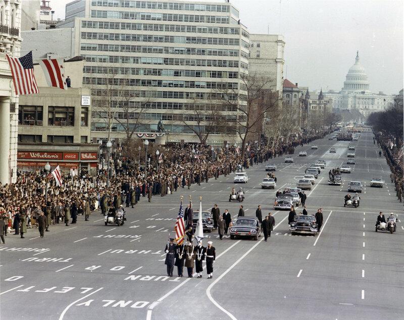 Инаугурация Линдона Джонсона, 20 января 1965 года1.jpg