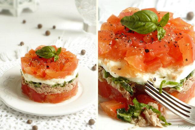 Форма салатов