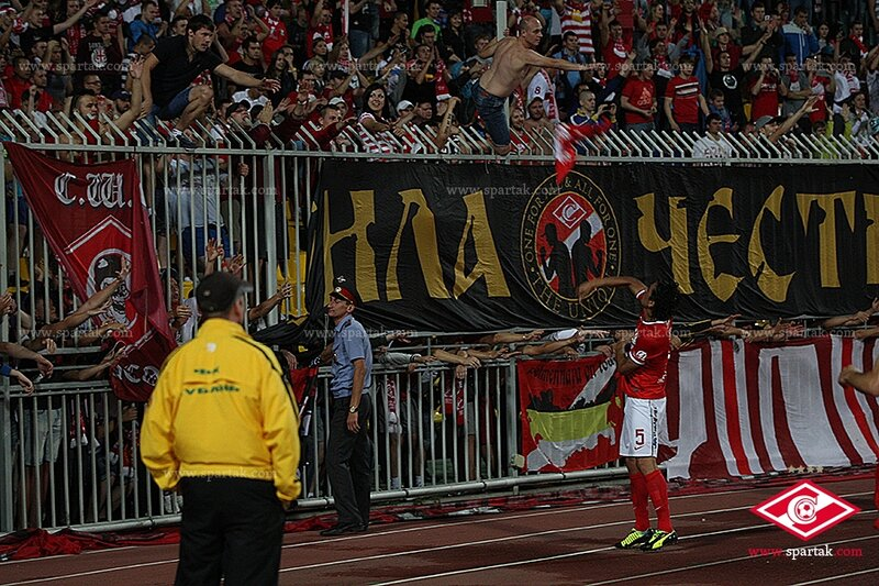«Кубань» vs «Спартак» 2:2 Премьер-лига 2013-2014 (Фото)