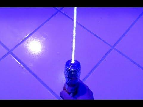 Мощный лазер на 3W