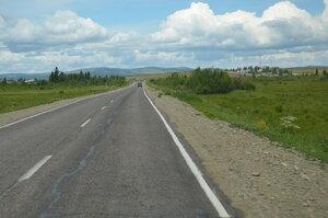 Трасса Самагалтай - Кызыл