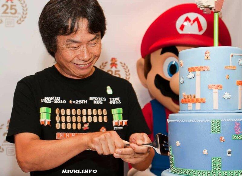 Сигэру Миямото и Супер Марио