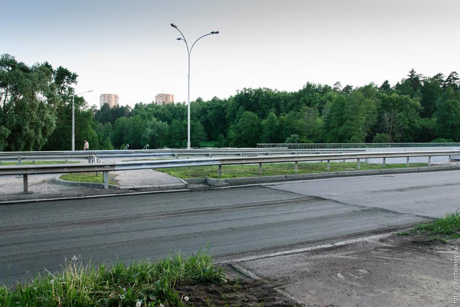 минус пешеходный переход