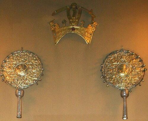 слепок короны царя Трдата III