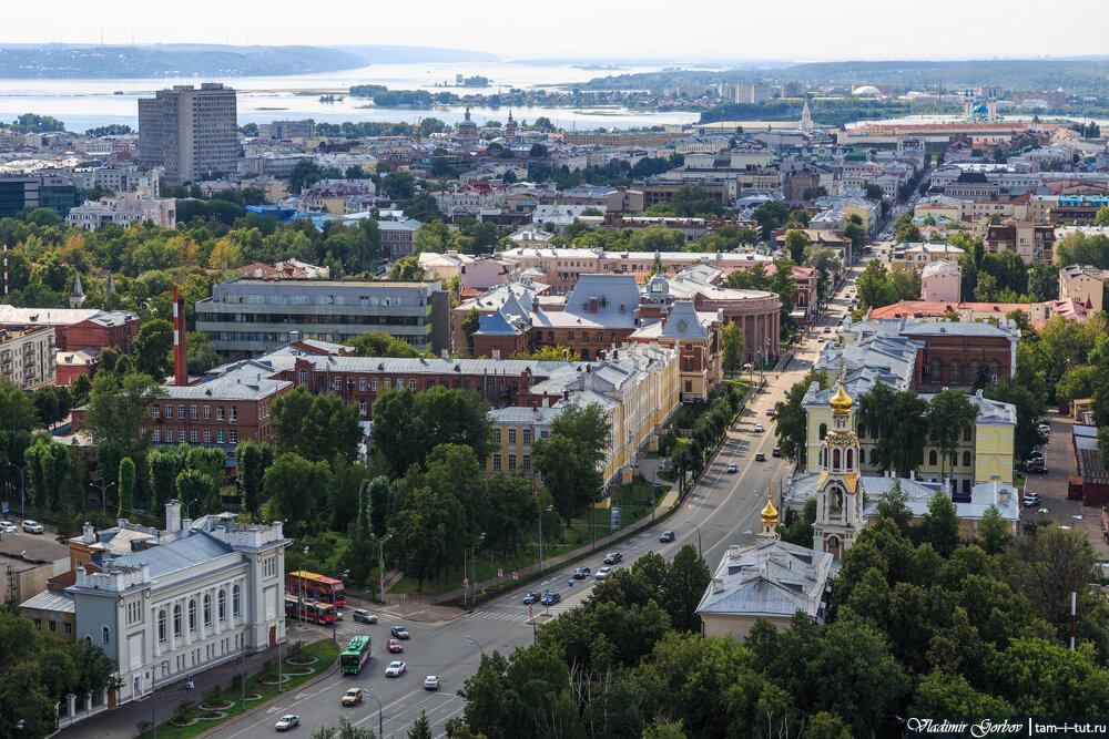 Казань с высоты 25-го этажа