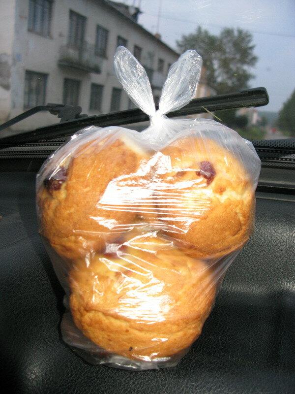 Печенье, купленное в рудянском магазине.