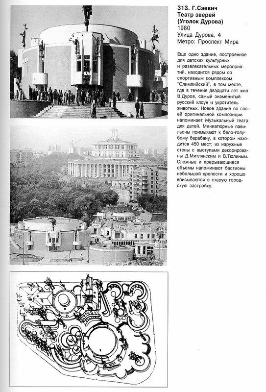 Театр зверей, уголок Дурова, план и фото