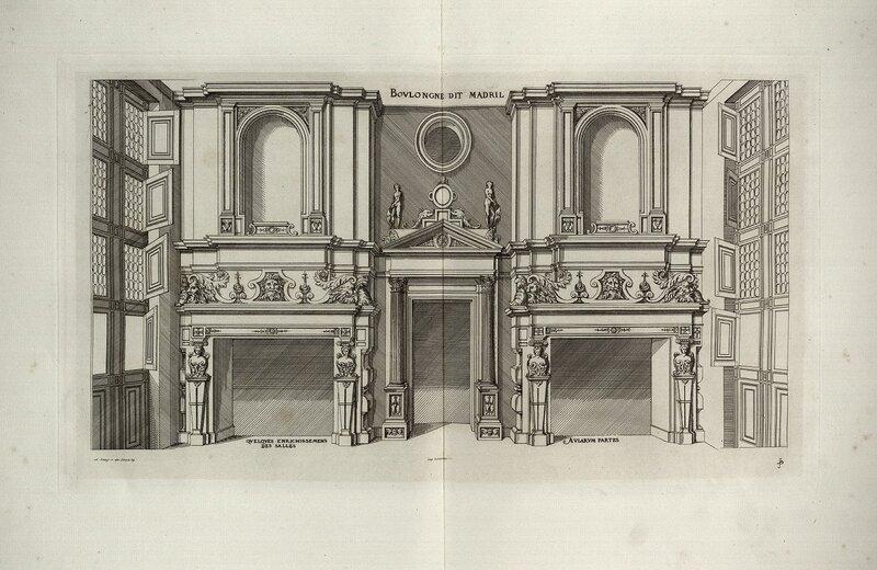 Булонский замок, деталь интерьера