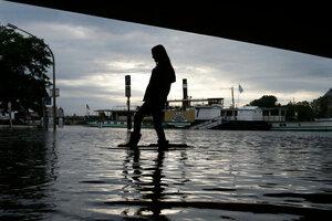 Сильнейшее наводнение в Европе