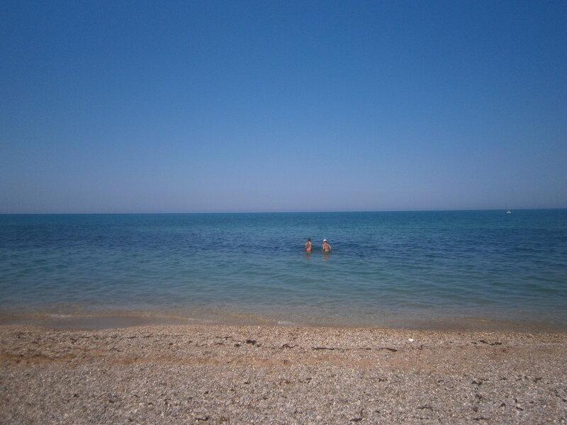 Кача. Море