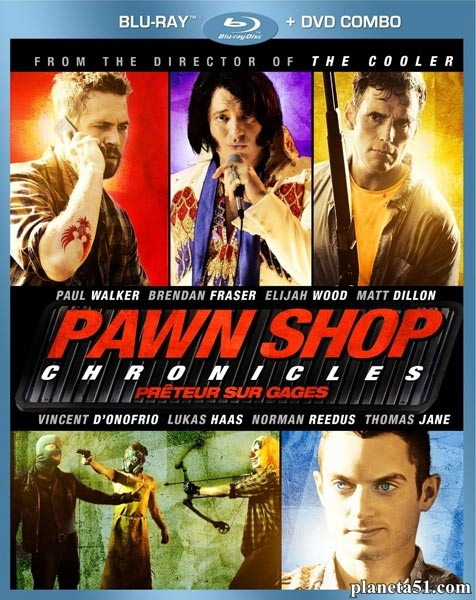 Хроники ломбарда / Pawn Shop Chronicles (2013/BDRip/HDRip)