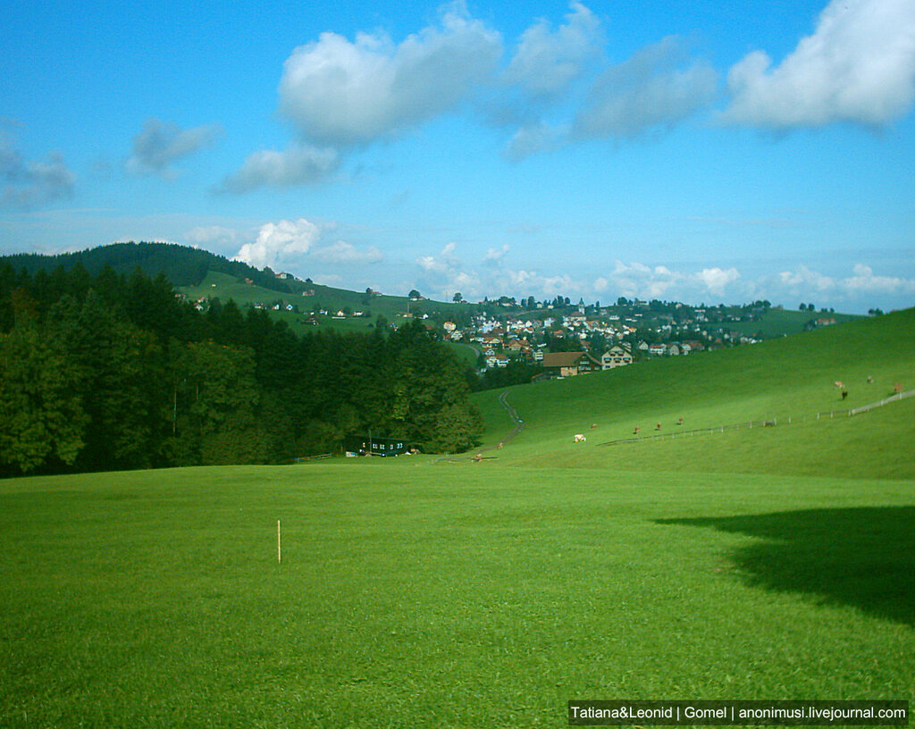 Старые фото Швейцарии.