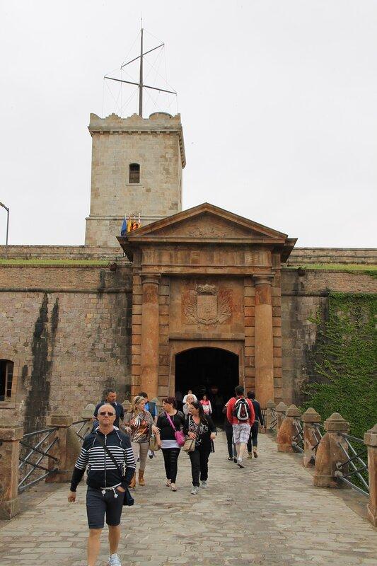 Барселона. Крепость Монтжуик (Castillo de Montjuic)