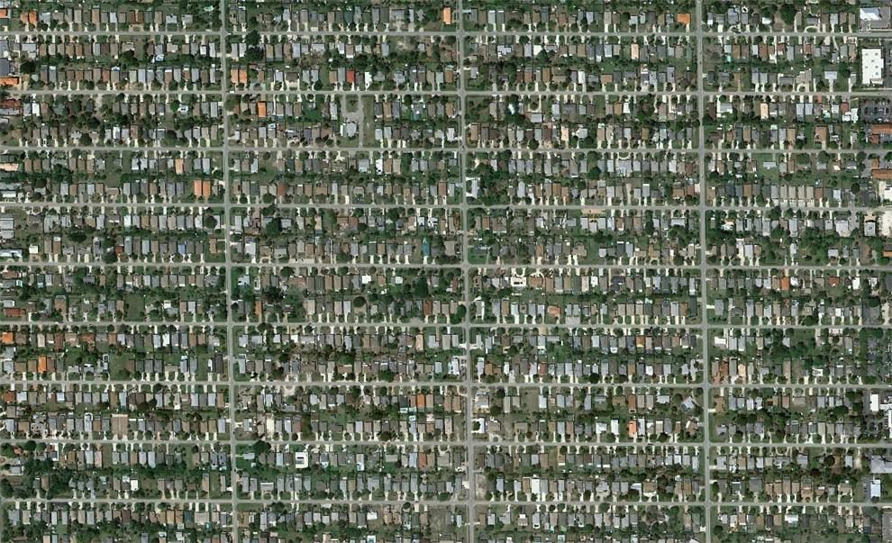 24. Неаполь Парк – густо населенный район к северу от Неаполя. (© Google)