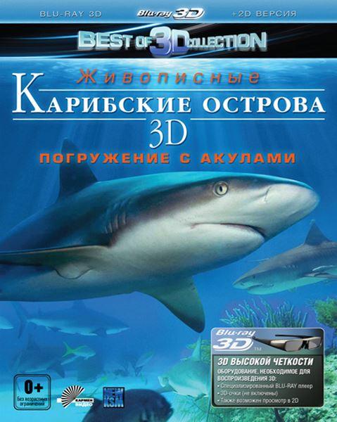 Карибские острова 3D: Погружение с акулами / Adventure Carribean 3D: Diving With Sharks (2012) HDRip