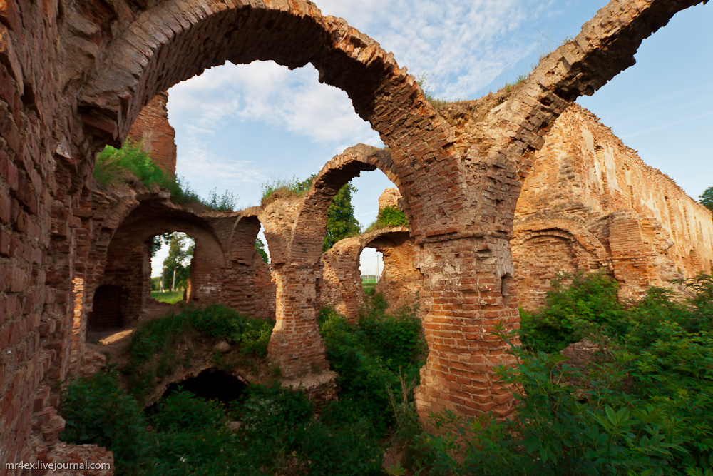 Руины Гольшанского замка