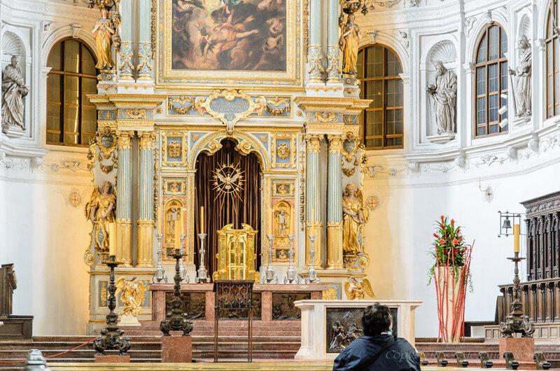Мюнхен. Церковь Михаэльскирхе