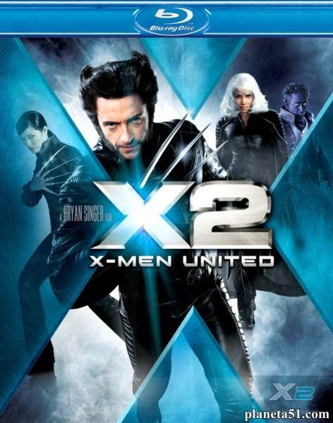 Люди Икс 2 / X2 (2003/BDRip/HDRip)