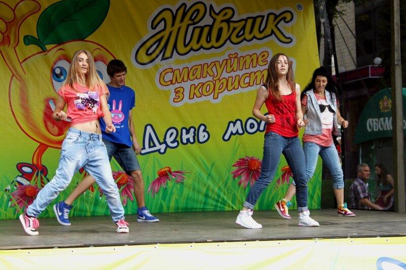 Концерт Дня молодежи на Крещатике