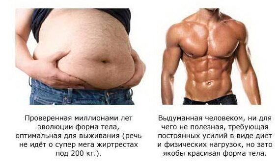 Преимущества толстяка над качком