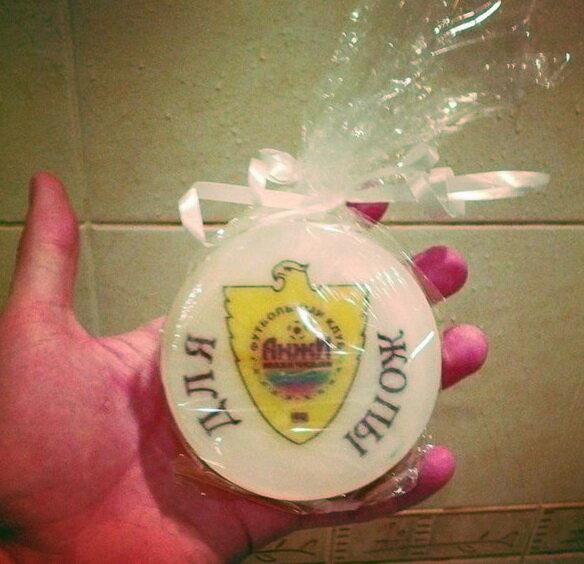 Мыло для жопы футбольного клуба Анжи