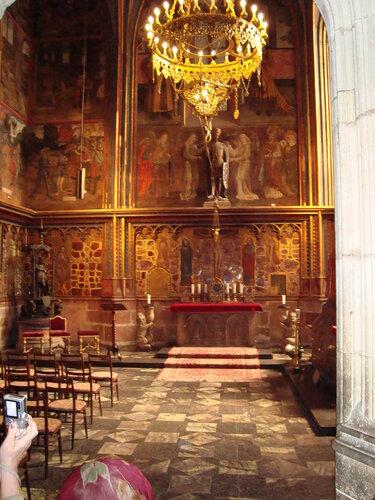 Прага. Капелла святого Вацлава (?)