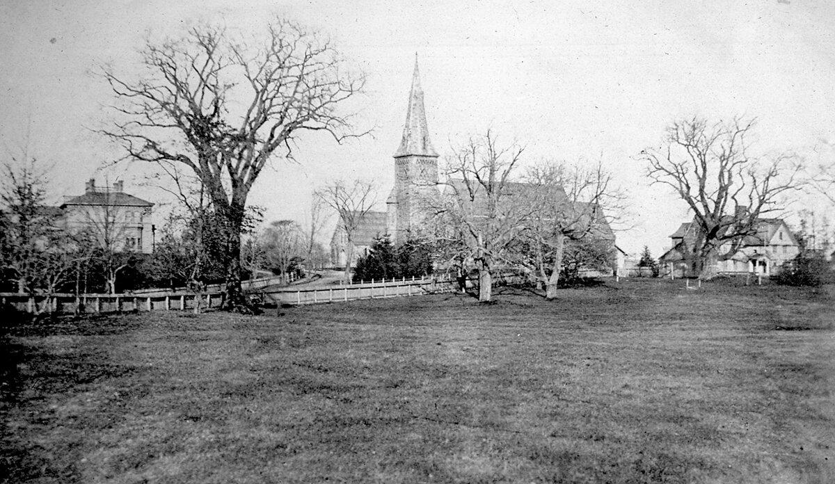 1860-е. Дом Аспинуоллов и Церковь Св. Павла