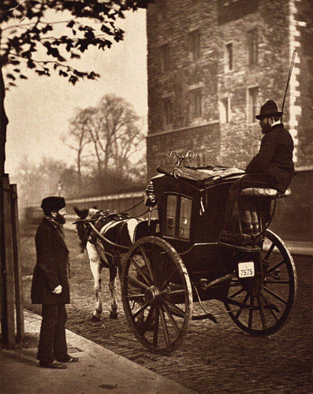 Лондонский извозчик.1877-78 гг.