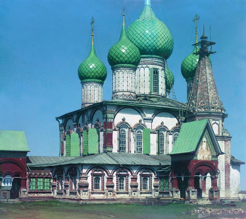Церковь Иоанна Златоуста с юго-запада. Ярославль. 1911.