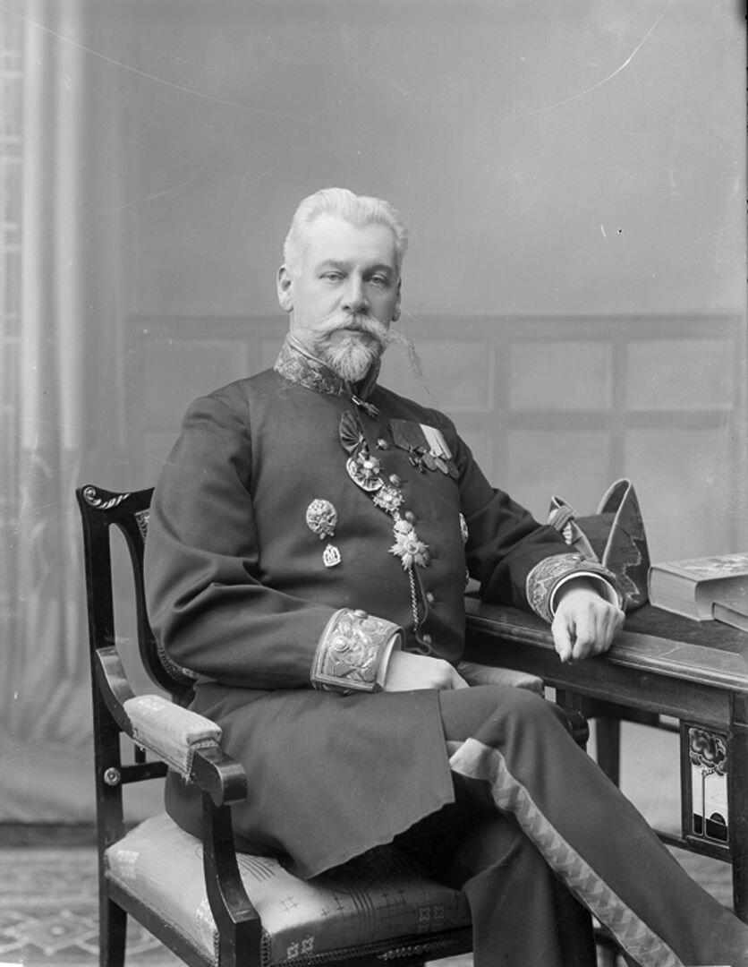 Нижегородский губернатор М.Н. Шрамченко. 1906-1909 г.