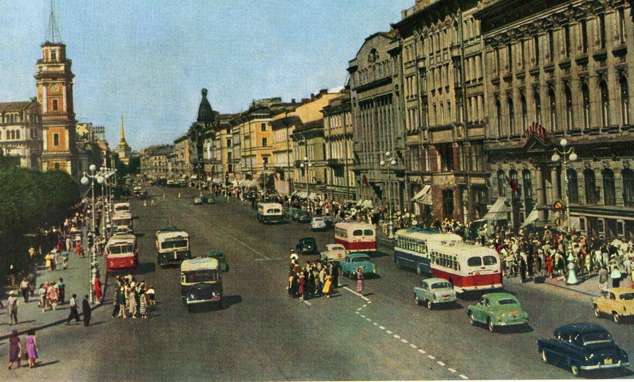 Невский проспект. 1957 год